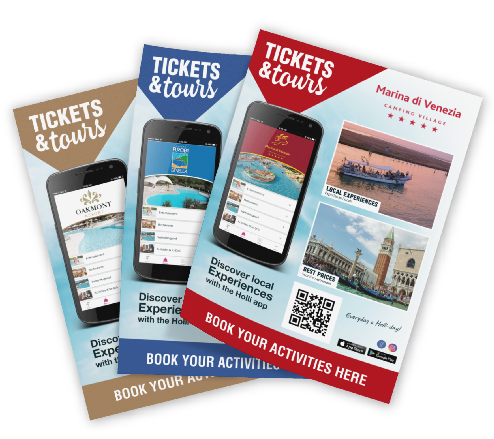 Personalised flyers, an example of a Promo Print product