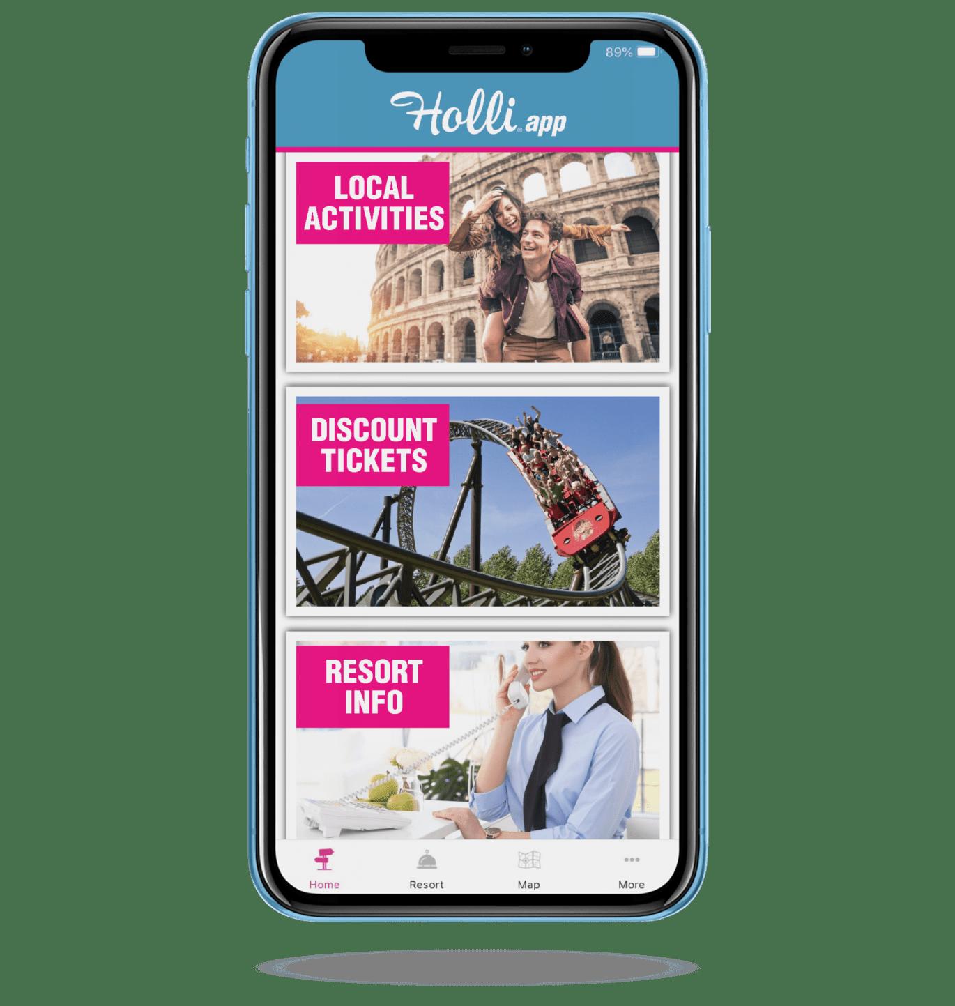 Holli reis App
