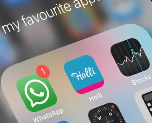 Holli-App in app mapje
